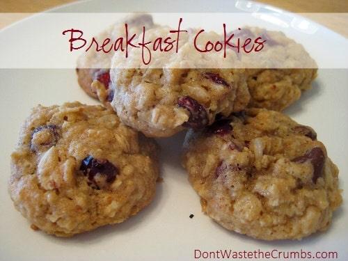 Healthy Cookies A Simple Breakfast Or Dessert Recipe