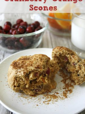 Cranberry Orange Scones: A Tasty Breakfast Recipe