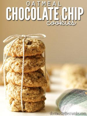 Recipe: Vanishing Oatmeal Chocolate Chip Cookies