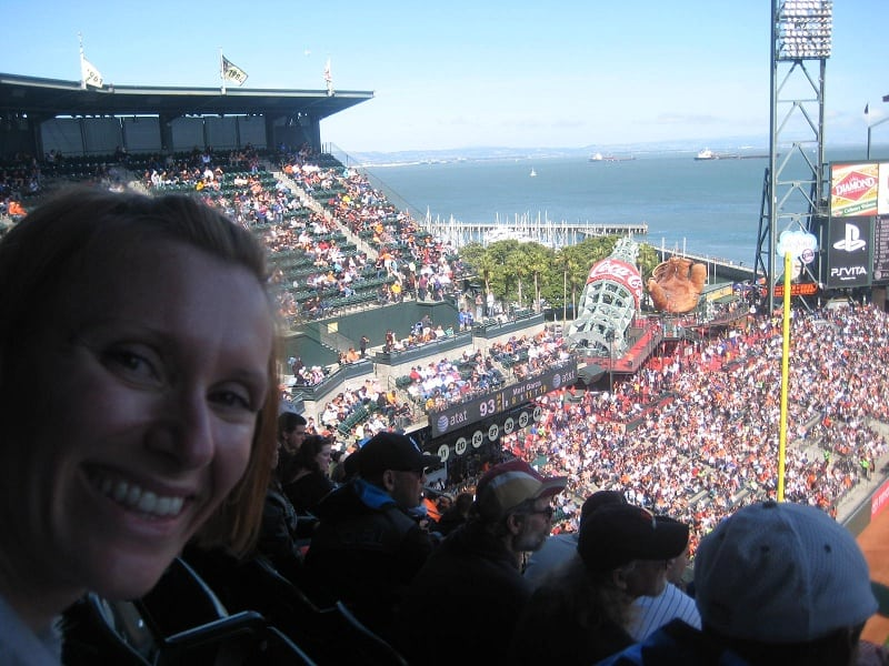 Tiff View from AT&T Park San Francisco