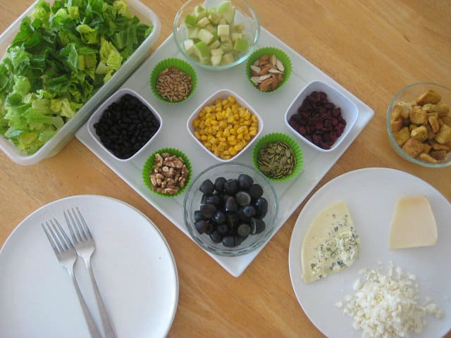 Meal Plan: DIY Salads