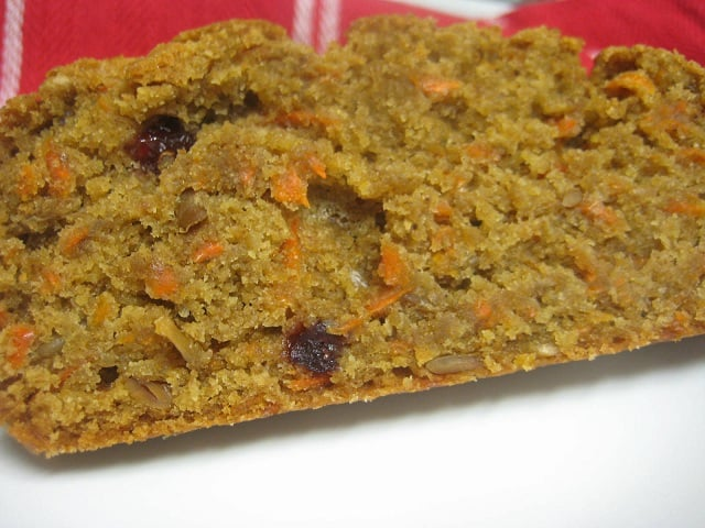 Spiced Carrot Bread (Dairy-Free)