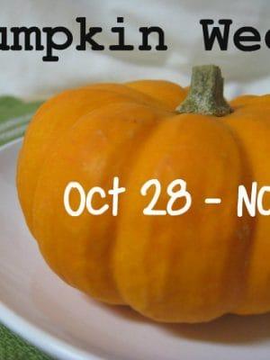 October Meal Plan – Week 4