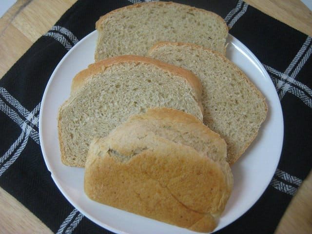 Very Litte Bother Oat Bread