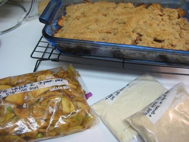 Freezer Edition Slab Apple Pie