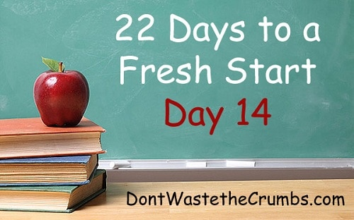 22 Days to a Fresh Start_Day 14