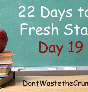 Fresh Start Day 19:  Make Yogurt (and arm your gut!)
