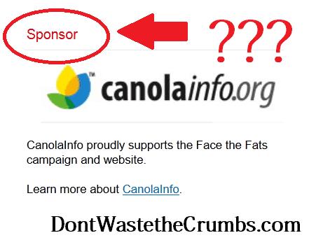 Canola Sponsor