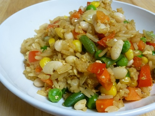 Yummy} Recipe: Vegetable Fried Rice - Don't Waste the Crumbs