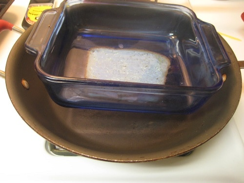 Pyrex for Grilled Sandwich