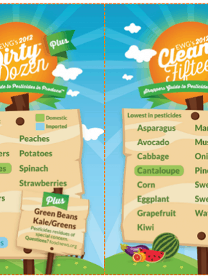 The Dirty Dozen, The Clean Fifteen and Everything In Between