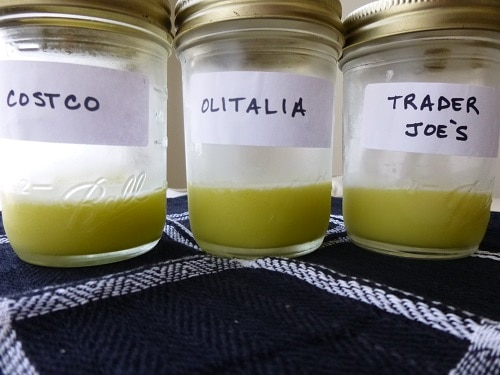 Two Step Olive Oil Purity Test