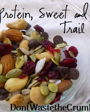 {Yummy} Recipe:  High Protein Sweet & Salty Trail Mix