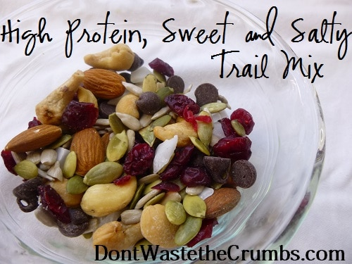 High Protein Sweet and Salty Trail Mix