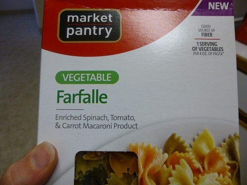 "Enriched ""Healthy"" Pasta"