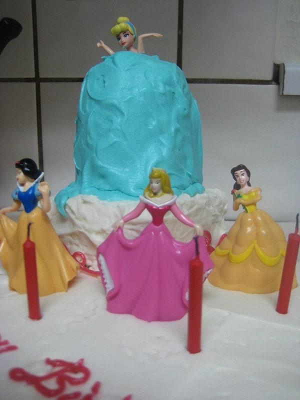 Cinderella Princesss Birthday Cake