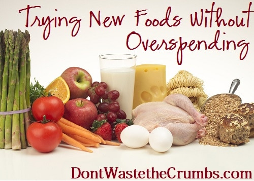 Trying New Foods Without Overspending