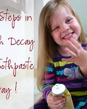 Our Baby Steps in Tooth Decay, Plus a Review and Giveaway [OVER]