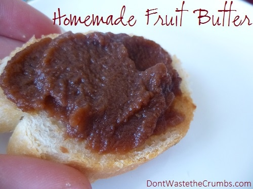 Homemade Fruit Butter