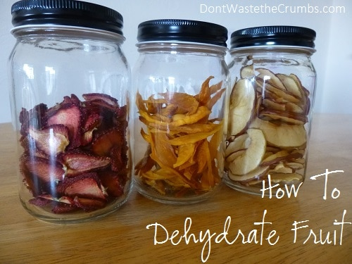 how to dehydrate fruit fruit freeze