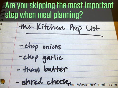 Most Important Step in Meal Planning 5