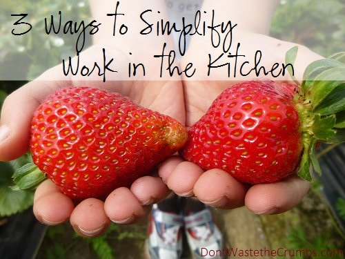 Ways to Simplify Work in the Kitchen