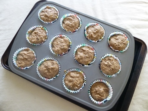Freezing Muffin Batter in Tins