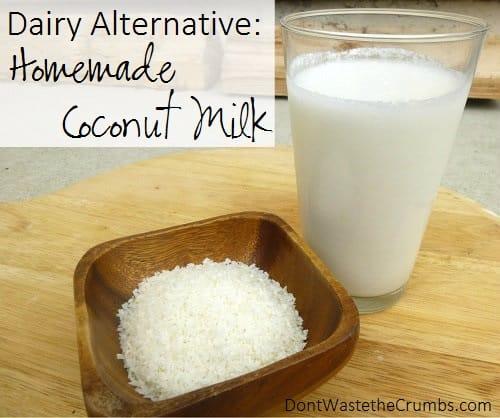 Home Made Coconut Milk Recipe — Dishmaps
