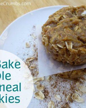 {Yummy} Recipe:  No Bake Apple Oatmeal Cookies