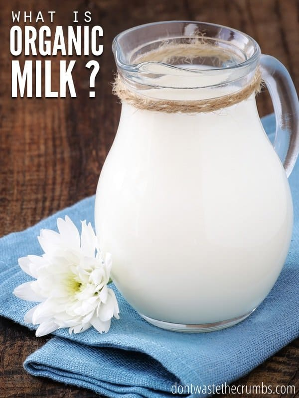 What is organic milk? How does it compare to conventional milk? Which is better? Get the answers to these questions as we explore the benefits of milk! :: DontWastetheCrumbs.com