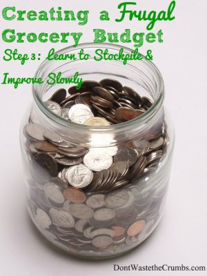Creating a Frugal Grocery Budget {A Series} – Part 3