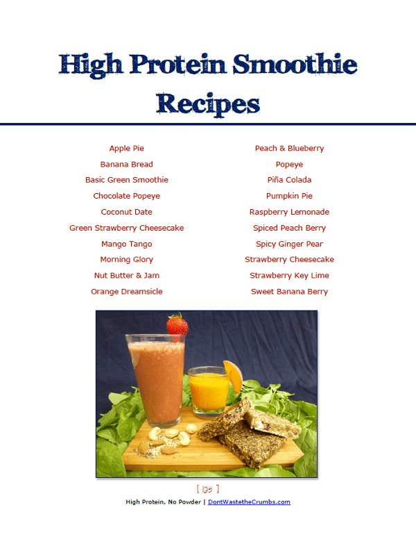 Protein Smoothie Recipes