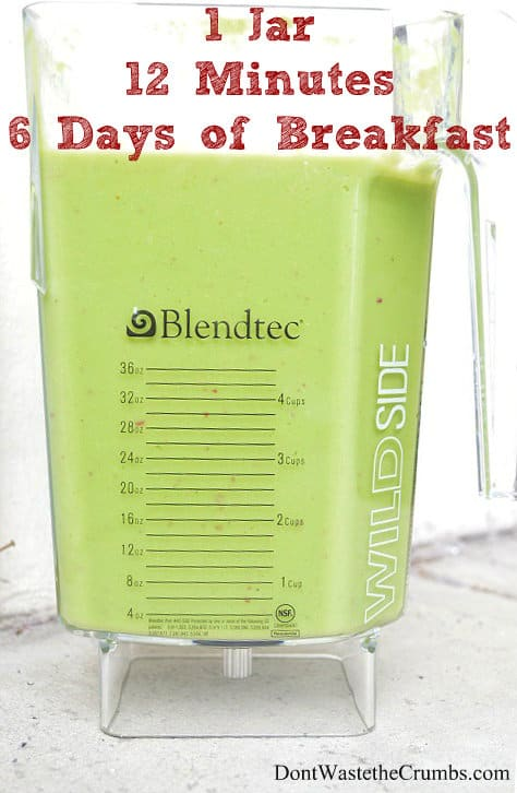 Are High Powered Blenders Really Worth It? Here are my favorite things about the Blendtec. :: DontWastetheCrumbs.com