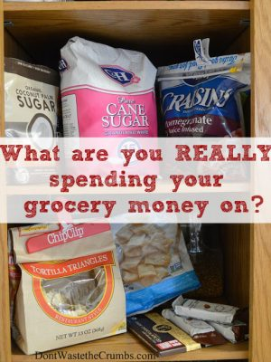 What are you REALLY spending your grocery money on?
