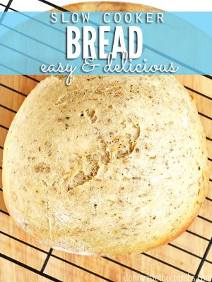 Homemade Bread in a Slow Cooker
