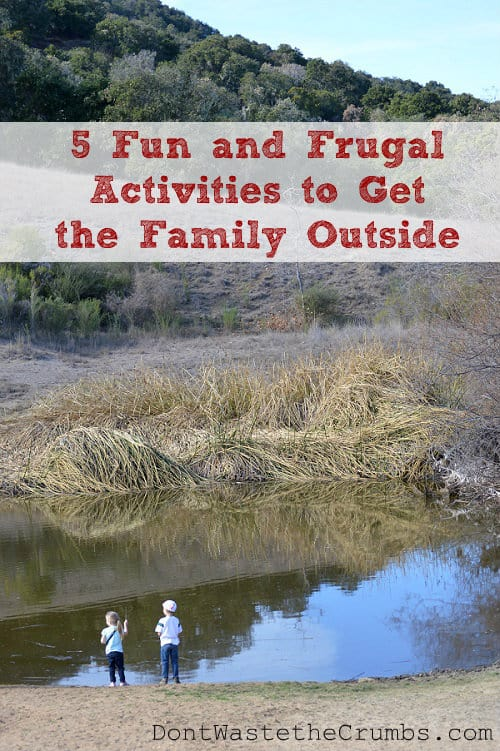 5 fun and frugal activities to get the family outside