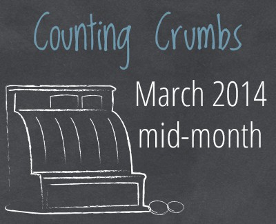 A Real Food Budget: Feeding real food to a family of four on $330 each month is entirely possible. See how this frugal family did it for March 2014 :: DontWastetheCrumbs.com