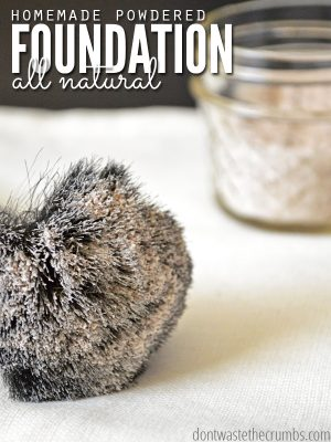 Homemade Powdered Foundation