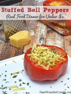 Recipe:  Stuffed Peppers