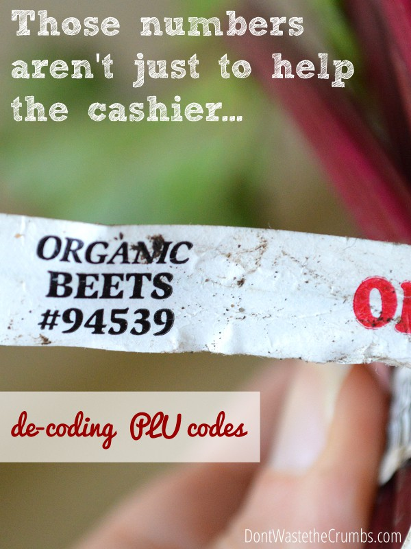 What do the stickers on fruits and vegetables mean? | Decoding PLU Codes | DontWastetheCrumbs.com