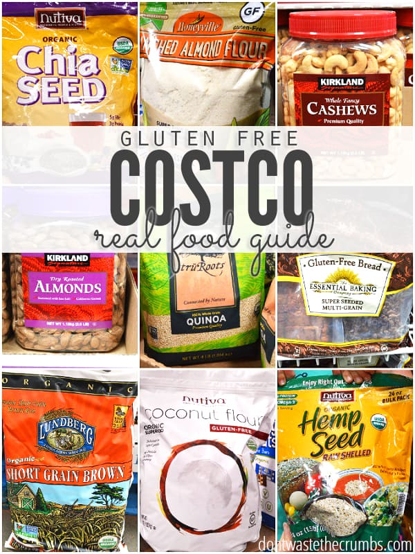 There are a lot of gems hidden in the aisles and shelves at Costco, including gluten free options. Here's my guide to buying gluten free food at Costco. :: DontWastetheCrumbs.com
