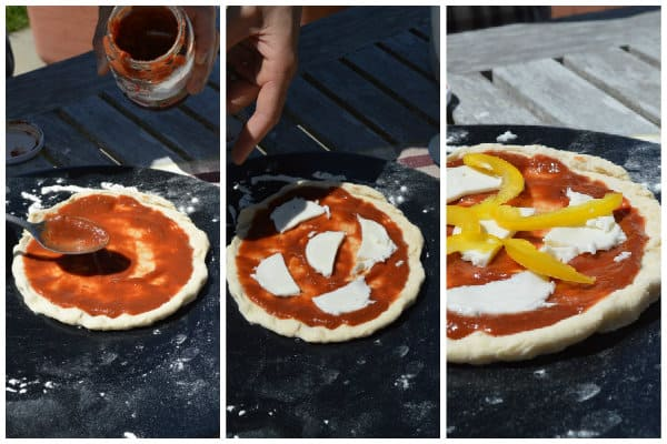 Making Pizza Collage
