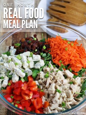 Real Food Eating Plan for June