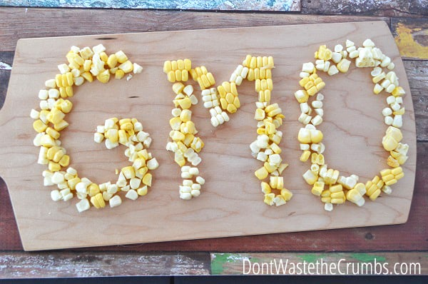 Have you ever what's Cheaper: fresh corn, frozen corn or canned corn? Here's a price comparison, plus considerations for organic and GMO! :: DontWastetheCrumbs.com