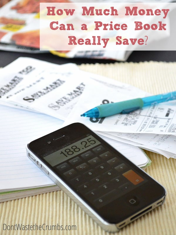 How Much Money Can a Price Book Really Save? Common myths debunked, and actual savings revealed - the amount saved will surprise you!