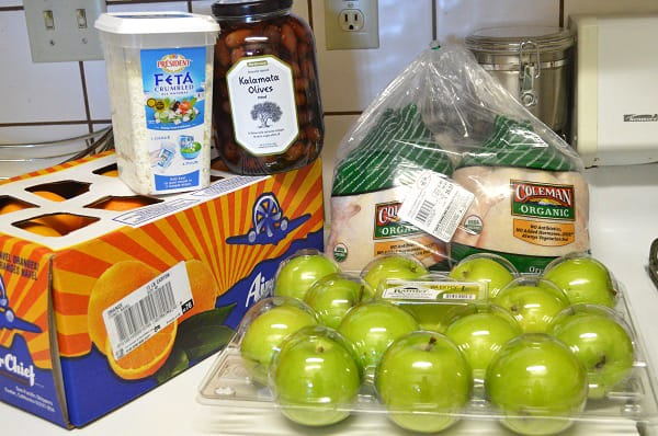 What one family bought in July 2014 in an effort to feed their family of 4 real food with a grocery budget of just $330. :: Don'tWastetheCrumbs.com