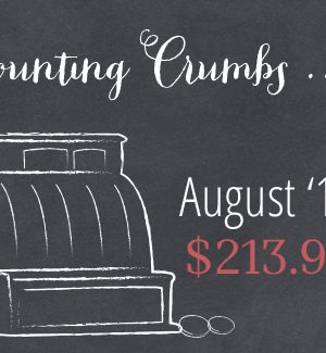 Counting Crumbs: Grocery Budget Accountability August 2014