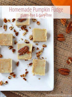 Homemade Pumpkin Fudge: a Recipe for Fall