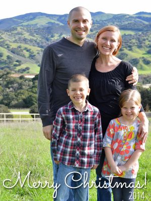 2014 Crumbs Family Christmas Letter