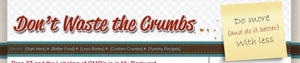 First Crumbs Header